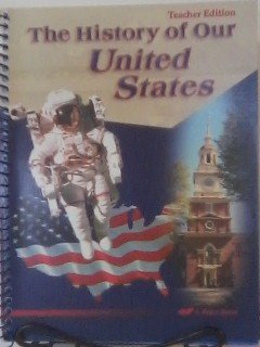 The history of our United States: Teacher edition (A for sale  Delivered anywhere in USA