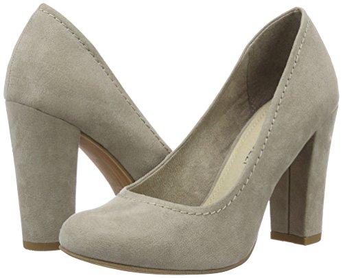 De Tozzi Zapatos Tacón Beige Para taupe Marco 22425 Mujer 341 BqAxwWtd