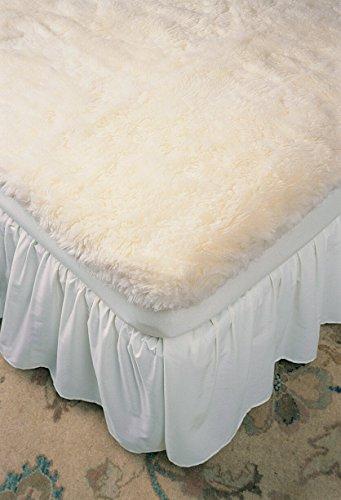Ultimatt Fully-Fitted Wool Mattress Pad Cream / Twin