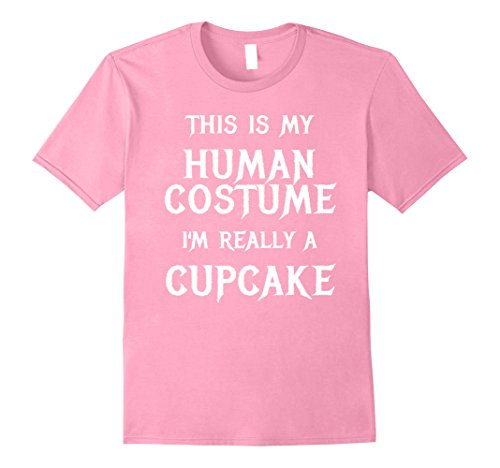Mens Cupcake Halloween Costume Shirt Easy Funny for Girls Women 2XL Pink