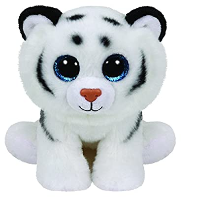 Ty Classic Tundra - White Tiger Medium: Toys & Games