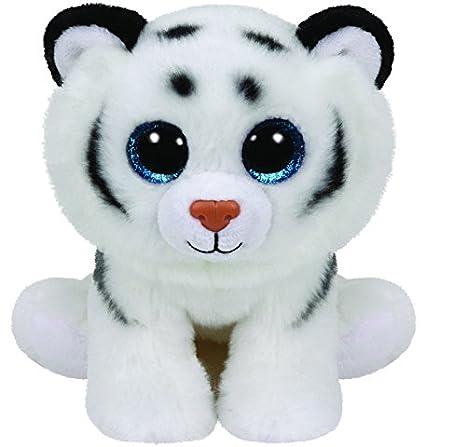 Ty - Classics Tundra, Tigre de Peluche, 23 cm, Color Blanco (90219TY): Amazon.es: Juguetes y juegos