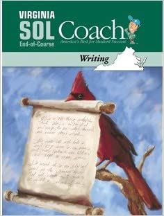 Book Virginia SOL Coach, Writing, End-of-course