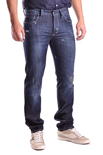 Dekker Herren MCBI090003O Blau Baumwolle Jeans