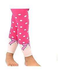 TeeHee Kids Girls Cotton Fashion Leggings