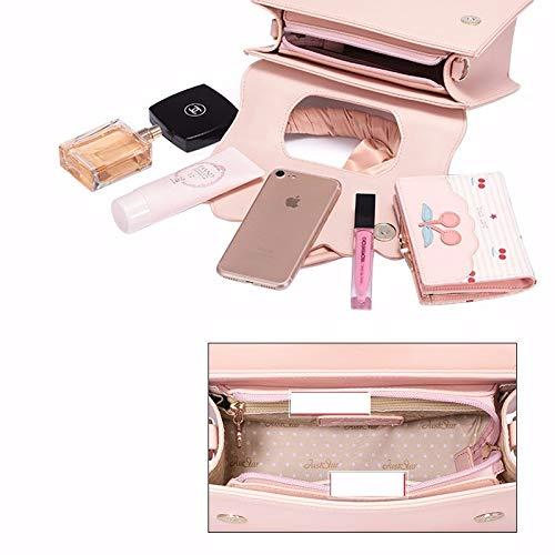 épaule rosa Femmes ZHANGJIA Sac Sac sakura Unique de brodé vSP1qSx