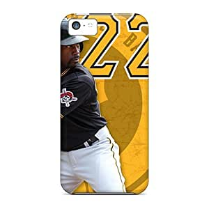 Cute Winvin Pittsburgh Pirates Case Cover For Iphone 5c