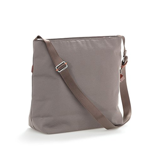 11 x 4 3 Crossbody 7 Strap Taupe Womens Hedgren x Accents Inches Leather Bag Adjustable Taupe Myth 10 and v6nwPqz4x