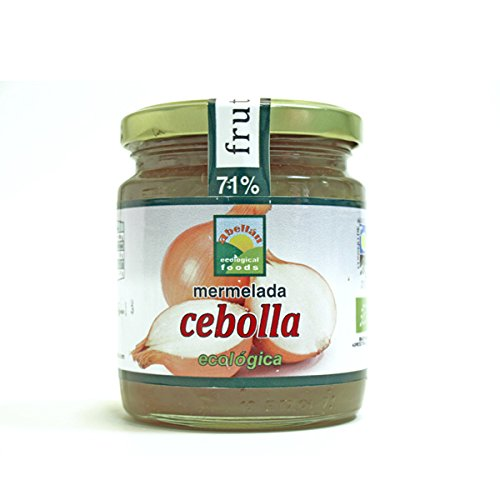 Abellan Biofoods - Mermelada De Cebolla Con Azúcar. Tarro 280 Gr