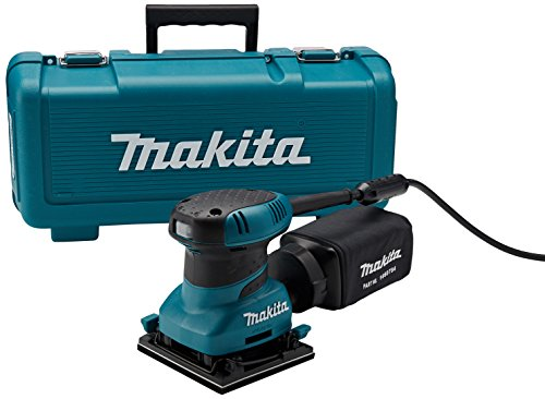 Hand Finishing (Makita BO4556K 2.0 Amp 4-1/2-Inch Finishing Sander with Case)