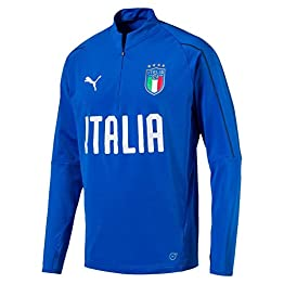 Puma Haut de Training Italy Bleu Garçon