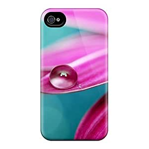 Fashion Tpu Case For Iphone 4/4s- Close Up Flower Defender Case Cover by runtopwellby Maris's Diary