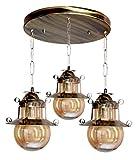 Imper!al Designer Lighting Wrought Iron Chandelier for Ceiling Rustic Finish Pendent Light Ceiling Light