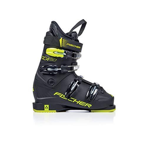 Fischer RC4 60 Junior Ski Boots Black/Black 26.5