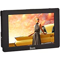 Ikan S7H Saga High Bright 4K Signal Support HDMI/3G-SDI On-Camera Field Monitor, 7, Black