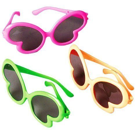 US Toy Butterfly Sunglasses (2-Pack of 12)