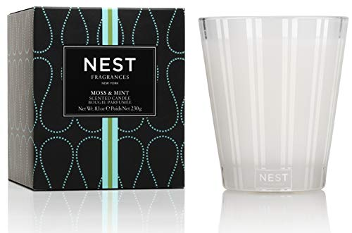 - NEST Fragrances Classic Candle- Moss & Mint, 8.1 oz