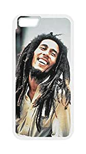 Bob Marley Hard Case Cover Back Skin Protector For Iphone6 Plus 5.5'