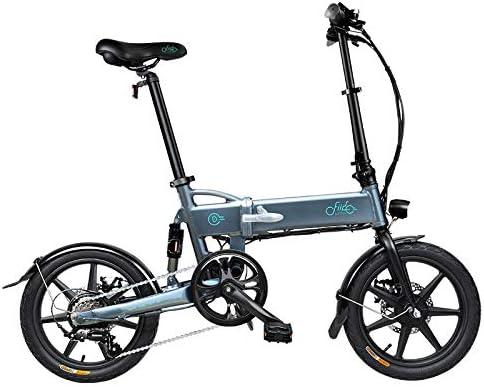 L&U D2s 7.8AH Ebike de Bicicleta eléctrica Plegable de 16 Pulgadas ...
