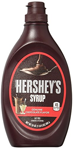 HERSHEY'S Chocolate Syrup, 24 Ounce
