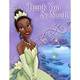 Princess and the Frog - Thank You Notes - 8/Pkg.