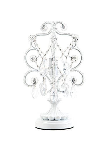 mini chandelier white - 5