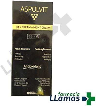 Interpharma S.A. ASPOLVIT PACK CREMA FACIAL DIA + CREMA NOCHE: Amazon.es: Belleza
