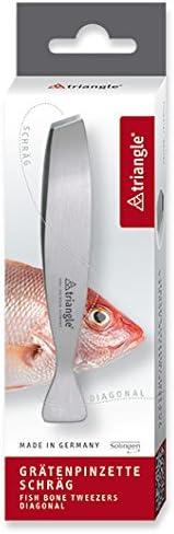Triangle Fish Bone Tweezers Diagonal