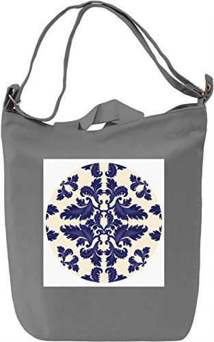 Texture Pattern Borsa Giornaliera Canvas Canvas Day Bag| 100% Premium Cotton Canvas| DTG Printing|