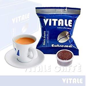 Vitale Caffè Extrema 2000 Capsule caffè Compatibili cialde caffè Lavazza Espresso Point - Miscela Estremamente Cremosa