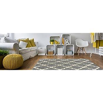 Amazon.com: Soft Shag Area Rug 3x5 Plain Solid Color BEIGE ...