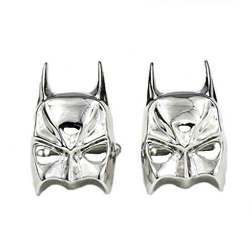 DC Comics Batman Mask Groomsman Wedding Cufflinks with Gift Box From Outlander