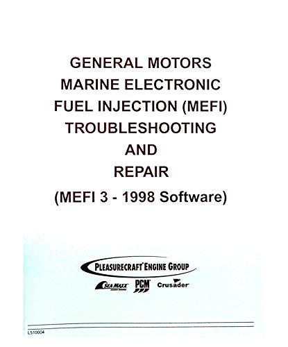 Amazon com: CRUSADER L510004 MEFI 3 DIAGNOSTIC MANUAL 1998 TBI EFI