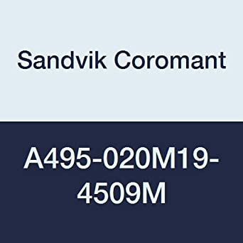 2.33 Length 3 Number of Flutes Sandvik Coromant A495-020M19-4509M CoroMill 495 Chamfer Milling Cutter 0.77 Cutting Diameter 2.33 Length 0.77 Cutting Diameter 6536281