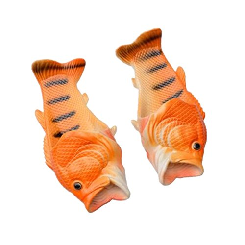 Shoes Orange Slippers Slip Non Fish and Comfy Kids Casual Beach Slippers Fish Women Shoes Sandals Men Creative XYwEaYIq