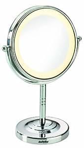 BaByliss 8435E - Espejo con diámetro de 11 cm, aumento 5x