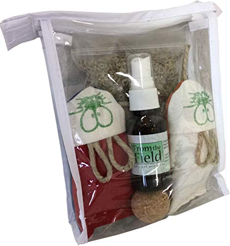 From The Field Deluxe Purrfect Gift Kit Cat Toy and - Catnip Mouse Toy Field