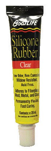 BoatLIFE Silicone Rubber Tube, 1-Ounce, Clear