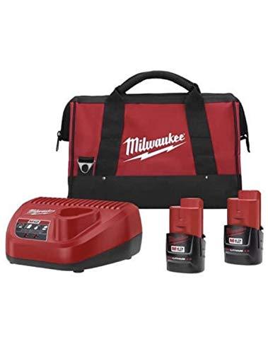 Milwaukee 48-11-2401  M12 Red Lithium 1.5 12-Volt Lithium-io