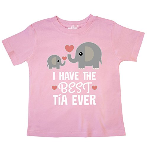 515db042f inktastic - Best Tia Ever Niece Nephew Gift Toddler T-Shirt 5/6 Pink ...