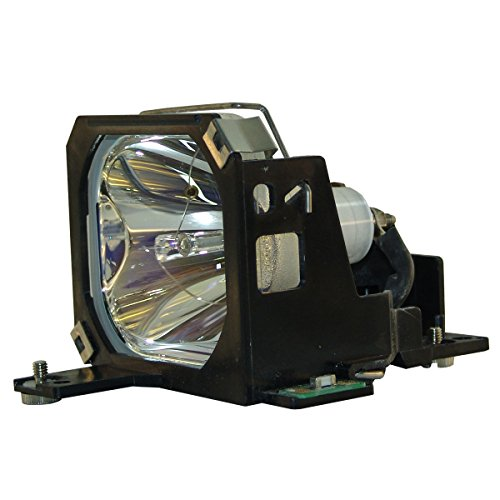 AuraBeam Professional Epson PowerLite 7550C Projector Replacement Lamp with Housing (Powered by Philips)