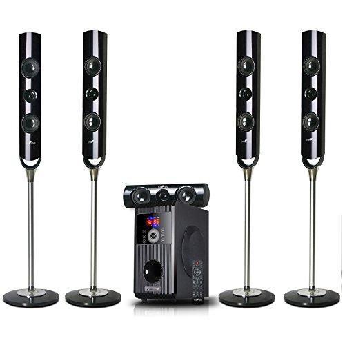 beFree Sound BFS-900 5.1 Channel Surround Sound Bluetooth Speaker System
