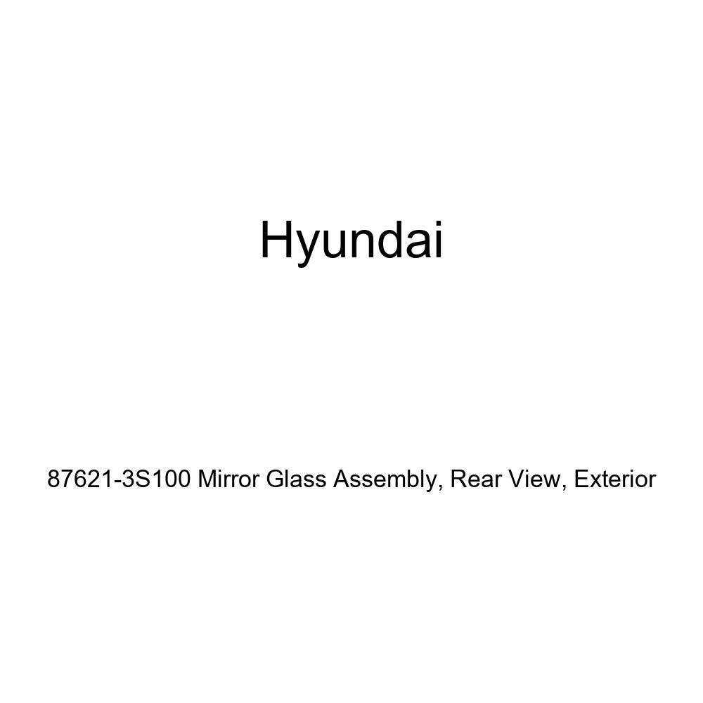 Exterior Rear View Genuine Hyundai 87621-3S100 Mirror Glass Assembly