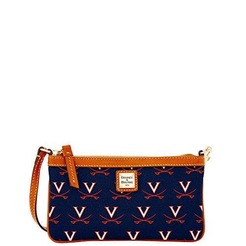 dooney-bourke-ncaa-virginia-large-slim-wristlet