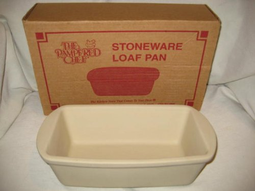 The Pampered Chef - Stoneware Loaf Baking Pan