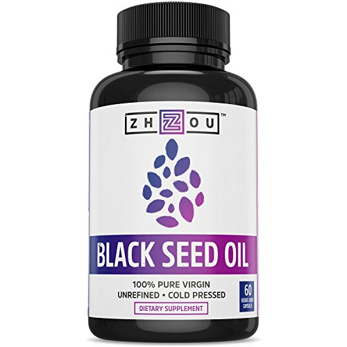 Care 100 Capsules (Black Seed Oil Capsules - 100% Virgin, Cold Pressed Source of Omega 3 6 9 - Nigella Sativa Black Cumin Seeds - Super Antioxidant for Immune Support, Joints, Digestion, Hair & Skin - 60 Liquid Caps)