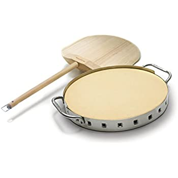 Amazon Com Broil King 69815 Pizza Stone Grill Set