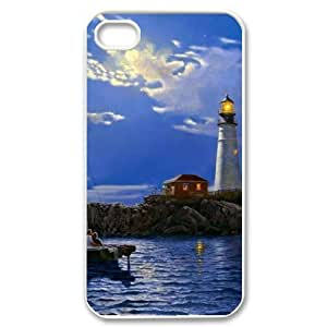 GGMMXO Lighthouse Phone Case For Iphone 4/4s [Pattern-1]