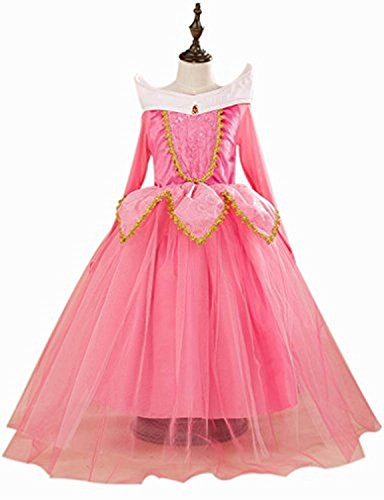 Eyekepper Sleeping Beauty Aurora Costume Birthday Party Dress Up (Sleeping Beauty Halloween Costume Child)