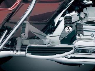 Kuryakyn 4505 Adjustable Passenger Pegs for Harley-Davidson (Pegs Kuryakyn Passenger Adjustable)